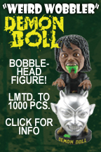 "Geretta Geretta DEMON DOLL ""Weird Wobbler"" bobblehead figure!"
